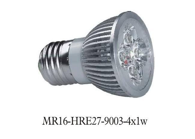 - MR16-E27-9003-4X1W
